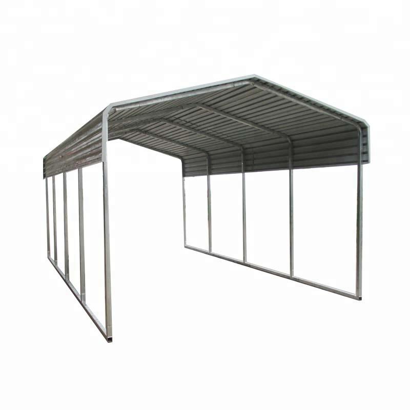 6x6x3,2 mt Medium 2-auto Carport Metall Carport Zwei Auto Shelter ...