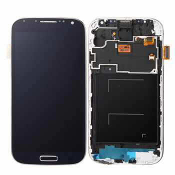for Samsung Galaxy S4 i545 LCD Touch Screen with Frame white