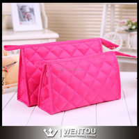 Factory Price Monogrammed Quilted Cosmetic Bag