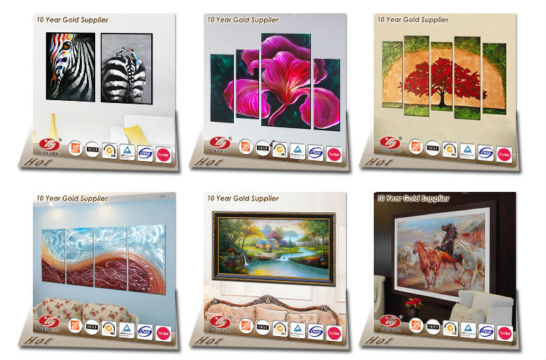 Custom Digital 3d Giclee Canvas Printing Art Photo Printing Painting