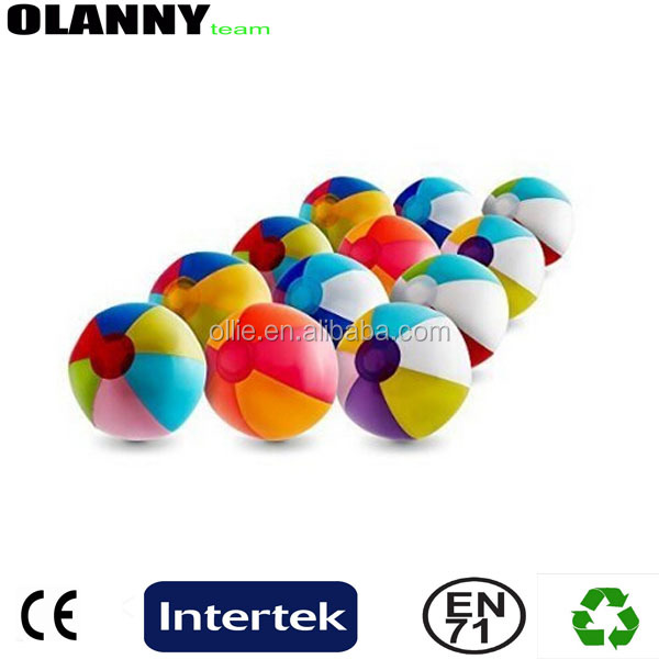 new mold good supplier professional water toy mini size match beach ball