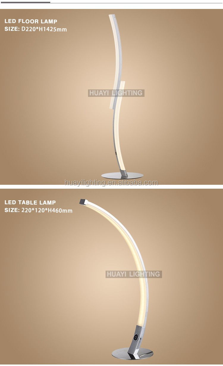 Simple modern fashion style indoor floor lamp chandelier