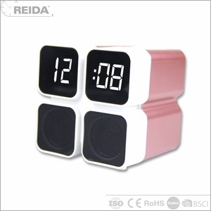 China Wireless Tech Advance Mini Speaker Bluetooth With Clock