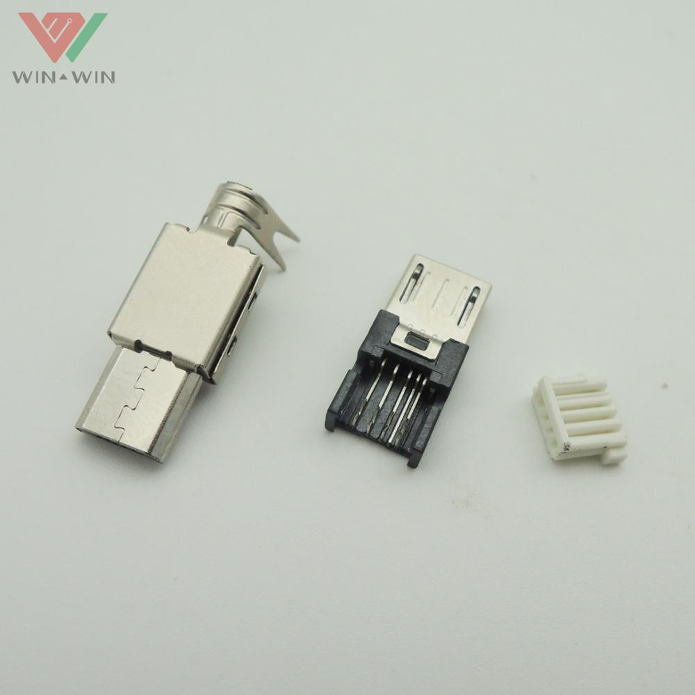 Crimping Price micro usb b 5 pin connector