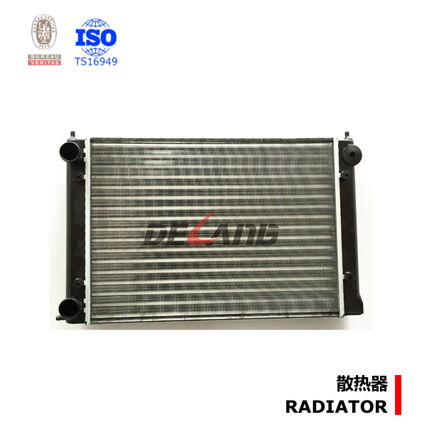 Aluminum auto engine radiator pa66 gf30 for Volkswagen golf jetta scirocco 1983 OE No# 191121253D (DL-A012)