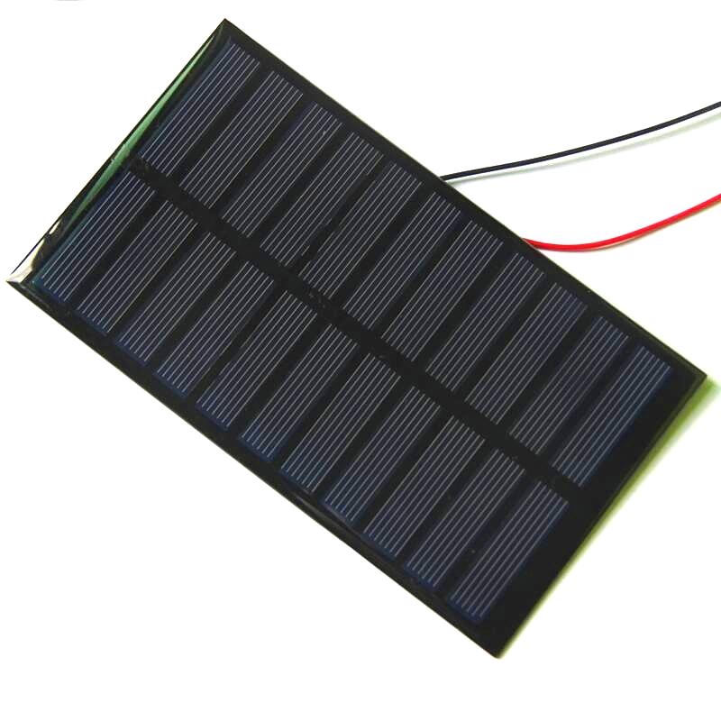 Buheshui 1 6 w 5 5 v peque o panel solar mini paneles for Panel solar pequeno