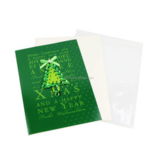 Professional light and fiber greeting cards for birthday