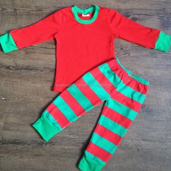 Wholesale christmas pajamas boutique toddler girl christmas ...