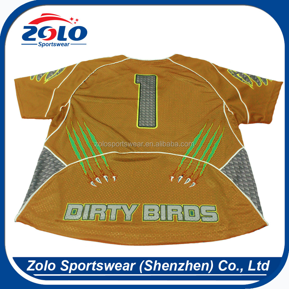 Cheap Custom Made Contemporary Sublimated Custom Lax Jersey