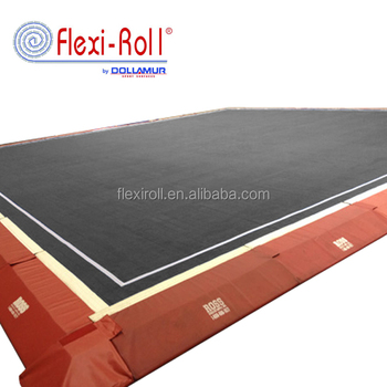 Hot Sale Dollamur Flexi Roll Cheerleading Mat / Inflatable Gymnastics Mats  / Rolling Cheer Mat - Buy Flexi Roll Cheerleading Mat,Rolling