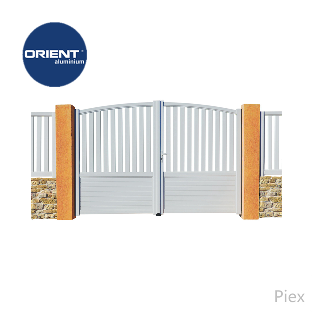 2018 New Swing Barrier Gate Aluminiumindian House Main Gate Designs