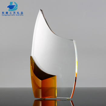 2019 New Innovative Products Crystal Trophy Award For Corporate Gifts