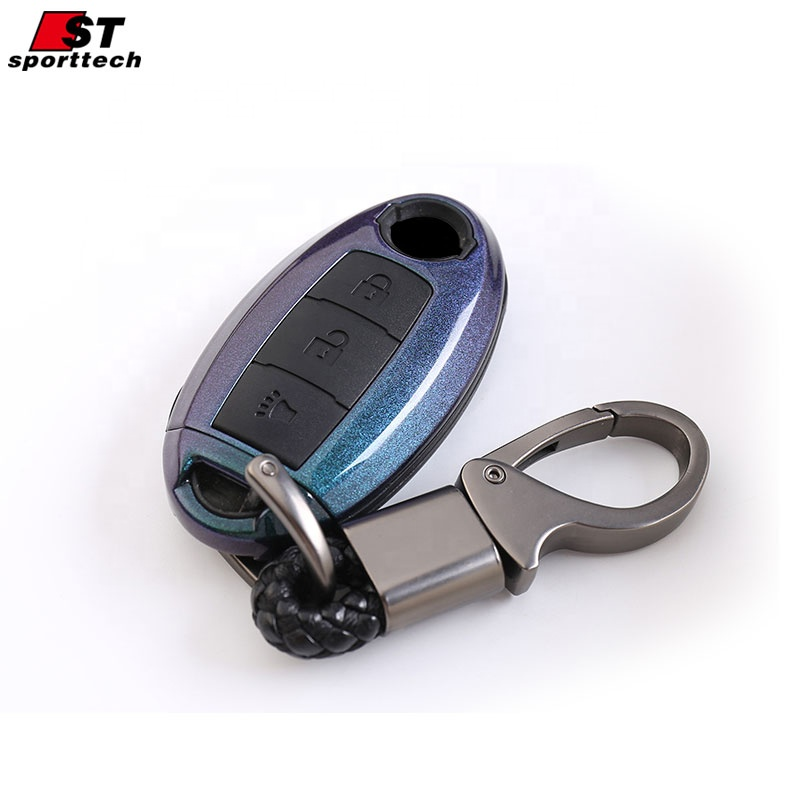 Remoto Smart Key Fob Holder Case Silicone Car Key Cover For Nissan