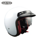 2018 new product dual visor half face motorbike helmet with bluetooth