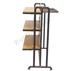 Clothing hanging furniture for garment/833 double side hanger