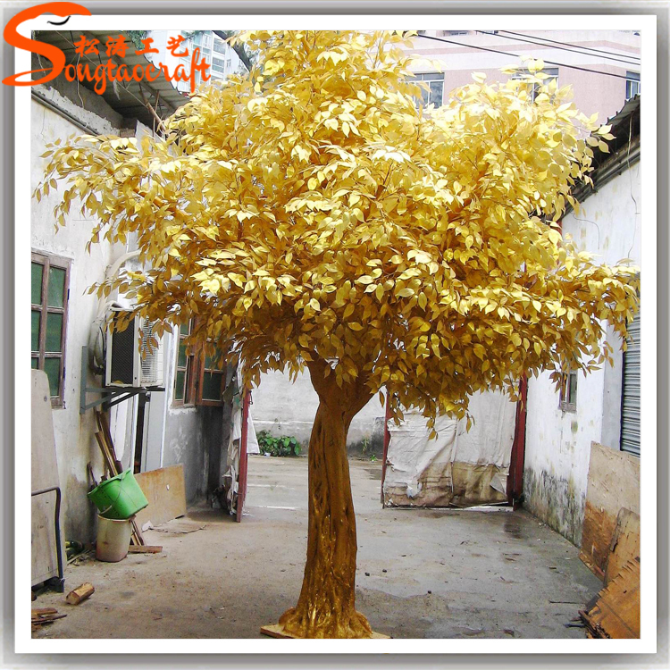 Wedding Trees For Sale: Made In China Cheap Artificial Wedding Wishing Tree Gold