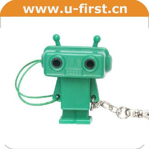 Robot type,cute earphone splitter ,3.5 stereo to 2*3.5 stereo jacks