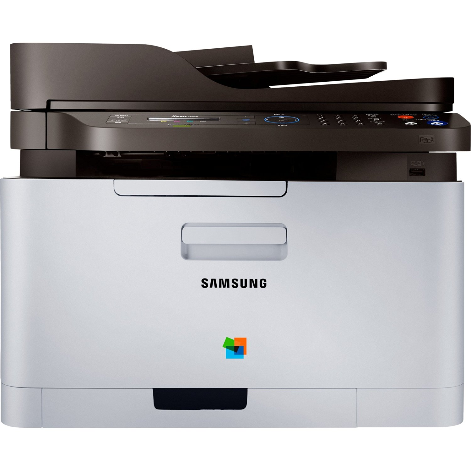 SAMSUNG Xpress SL-C460FW Laser Multifunction Printer - Color - Plain Paper Print - Desktop / SL-C460FW/XAA /