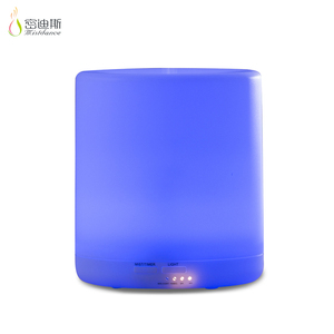 Ultrasonic aroma diffuser humidifier China air purifier with ionizer and led light