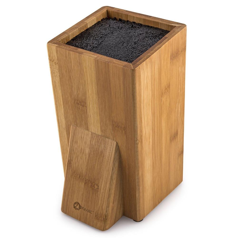 Universal-Bamboo-Kitchen-Knife-Block-Stand-Holder