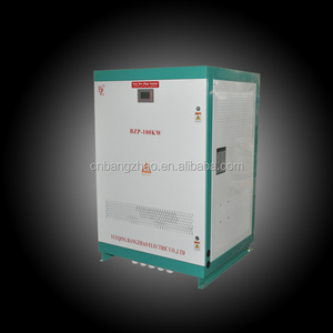 100kva solar energy system three phase pure sine wave hybrid inverter