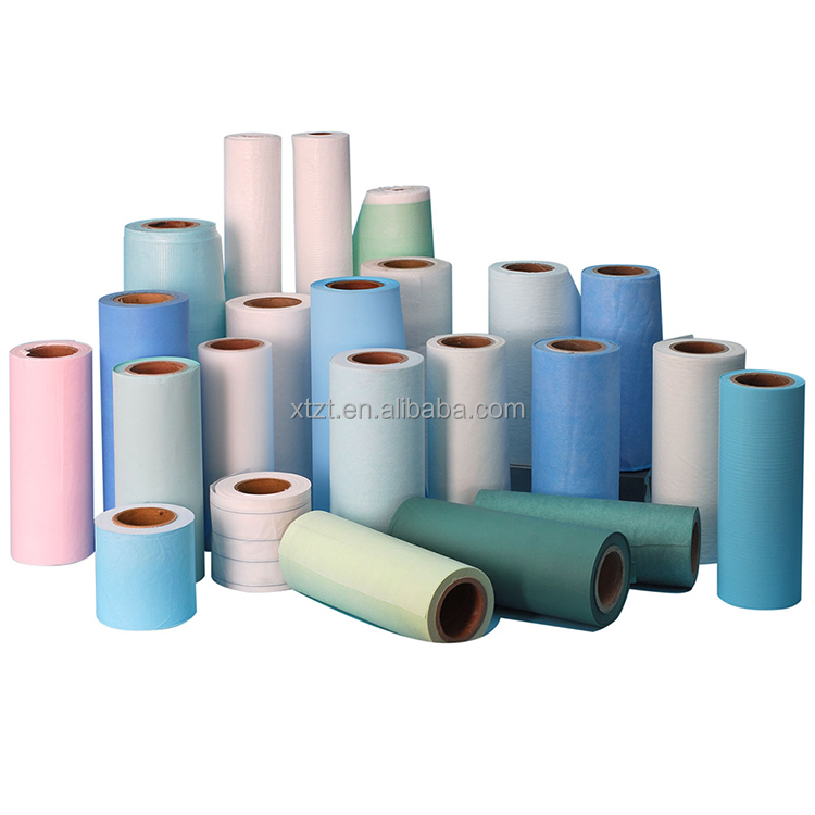 OEM Disposable Sheet Bed Rolls For Table Examination Hubei