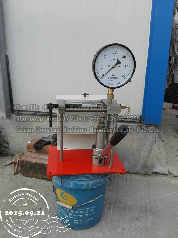 high pressure injection PJ40 nozzle tester