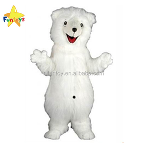 Funtoys CE Factory Direct Sale Polar Bear Cartoon Cosplay Mascot Costume