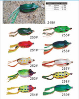 hot sale new soft fishing lure live frogs