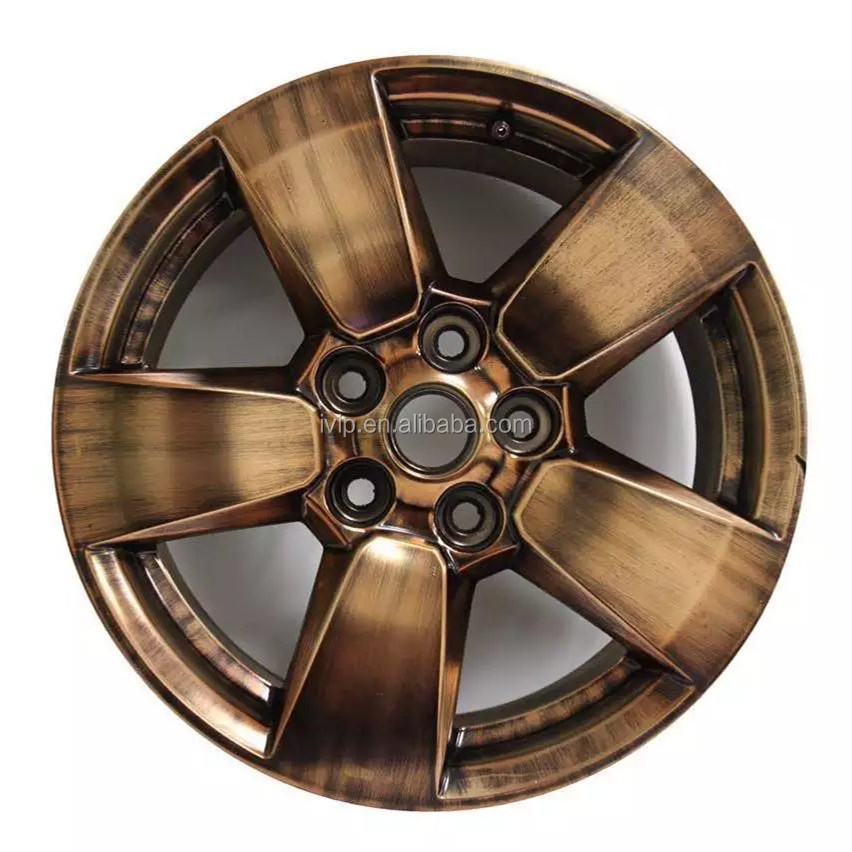 IVIP Antique Brass wheel Powder Coating Chrome Paint