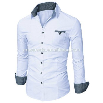 Custom Latest Fashion Design Italian Style Collar Mens Casual Shirts For Men Made In China Factory Price High Quality Buy Mens Casual Double Shirts For Men Italian Double Collar Shirts Men Dress Shirt