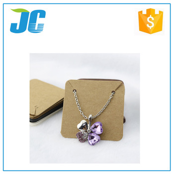 China Custom Printed Necklace Earring Cards