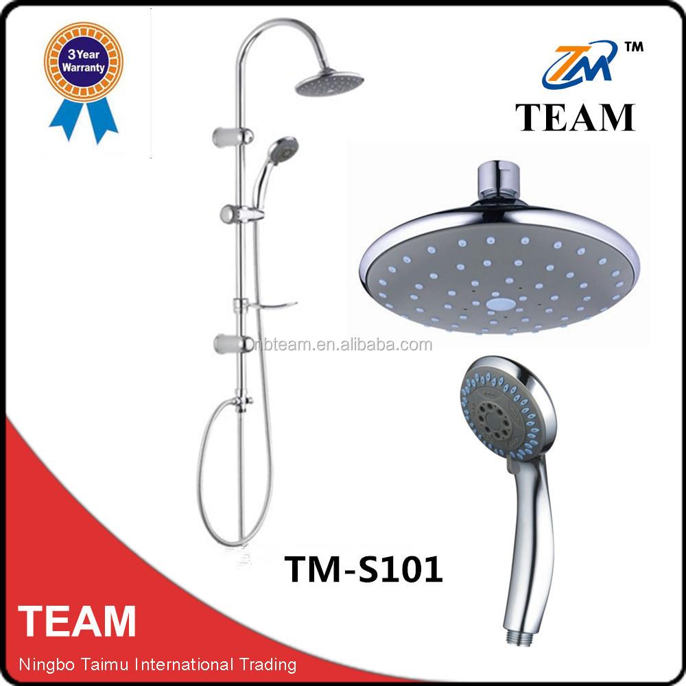 Tm s101 pas cher salle de bains colonne de douche set 6 pouces t te de douche - Set salle de bain pas cher ...