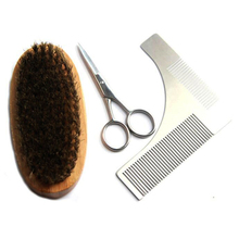 Private Label Beard styling and shaping template comb beard shaping tool
