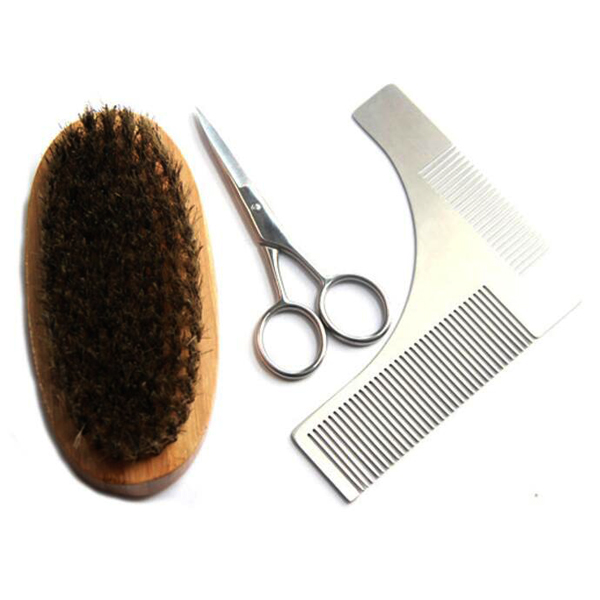 Template barba pettine grooming kit barba strumento shaping