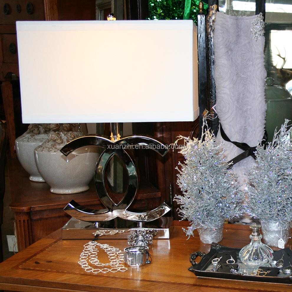 7.30-8 cc Creativo moderna in acciaio inox lampada da tavolo ...