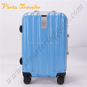 Blue Trolley Suitcases Hard Top Cases Hard Shell Luggage