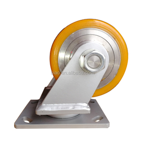 3 Ton Orange Heavy Duty PU Caster Wheel
