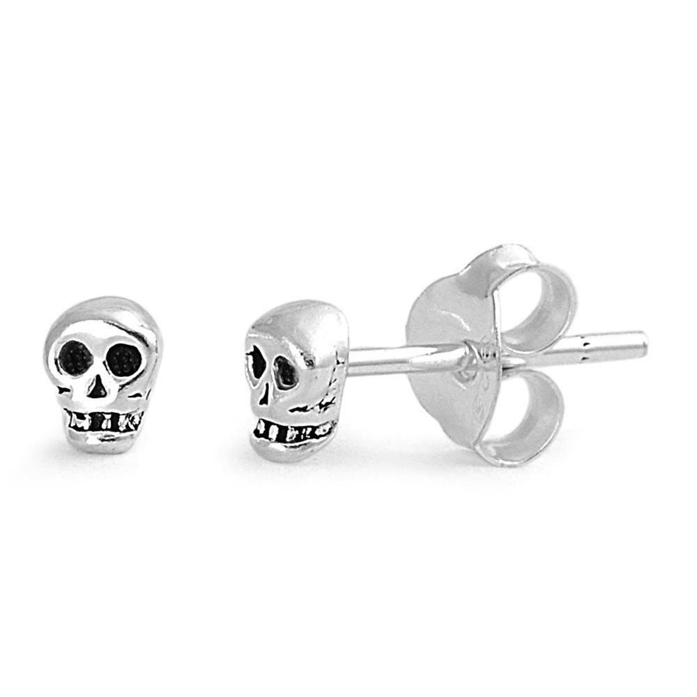 db807911e Cheap Silver Skull Stud Earrings, find Silver Skull Stud Earrings ...