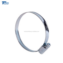 Bolt and nut granite flat steel c heavy duty hose exhaust pipe clamp