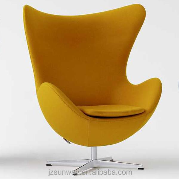 Mode woonkamer meubels gele ei stoel woonkamer stoelen for Stoel woonkamer
