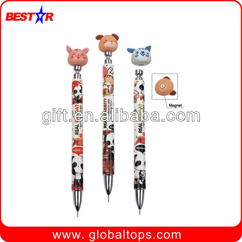 Free sample cute plastic mechanical pencil