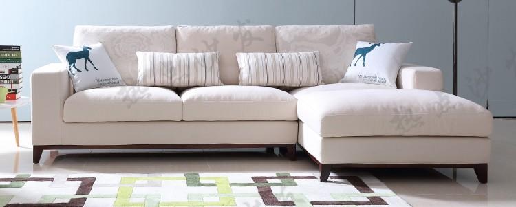 Moderno Divano Ad Angolo In Tessuto,Piccolo Angolo Sofa Per Mobili ...