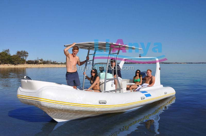 Liya 22fts Rib Boats Luxury Speed Boat 150hp Outboard Motor ...