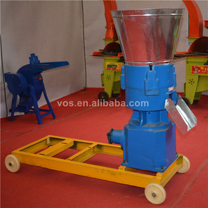 Poultry animal goat feed pellet making machine price/roller pellet machine of animal feed