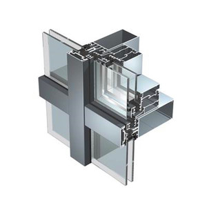 Cheap factory price structural glass curtain wall