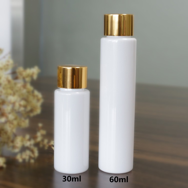 wholesale clear round plastic packaging pet <strong>bottle</strong> white spray <strong>bottle</strong>