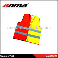 Half red and half yellow reflective tape 5cm width reflective tape for safety vest fabric