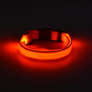 USB rechargeable Dog LED Flashing Collar LED Dog Collar LED Necklace For Dog