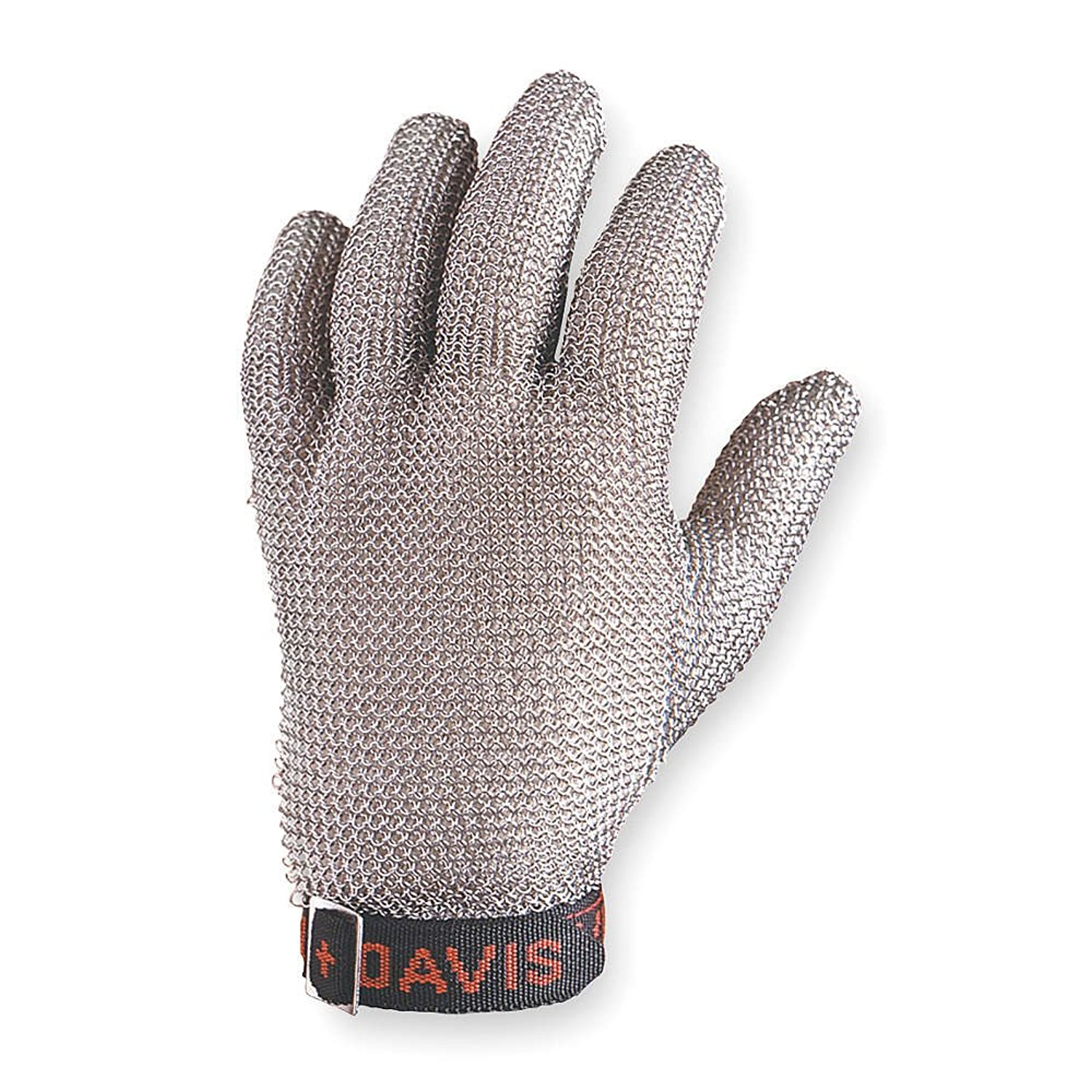 Honeywell Whiting & Davis Gray Large Stainless Steel Mesh Cut-Resistant Gloves - Uncoated - A515L D [PRICE is per EACH]